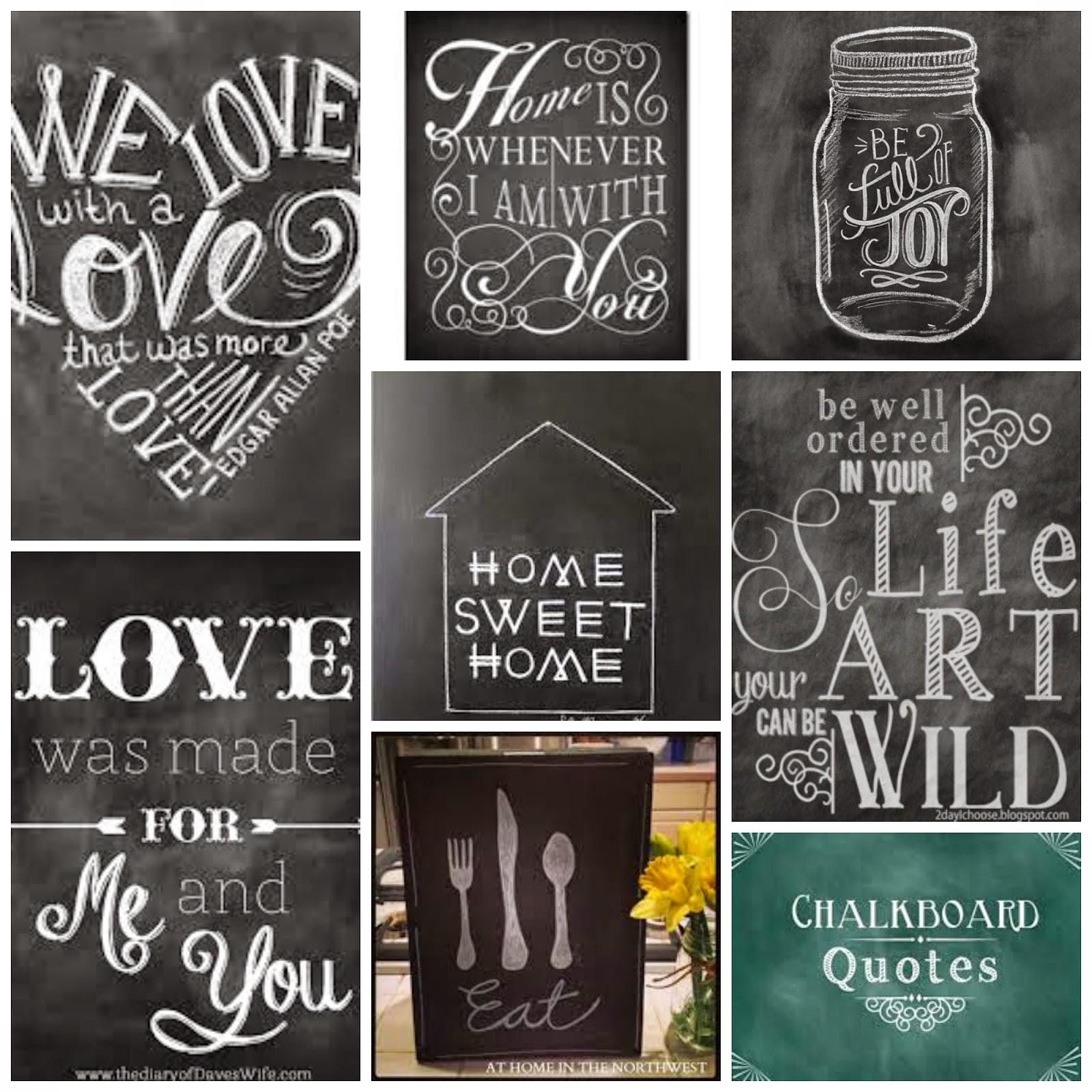 12 Chalkboard Art Designs Images Chalkboard Design Ideas