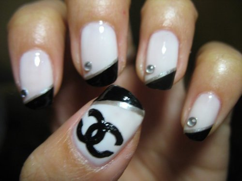 14 Chanel Nail Designs Tumblr Images