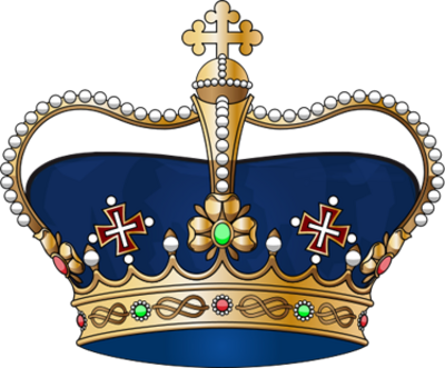 13 Blue King Crown PSD Images