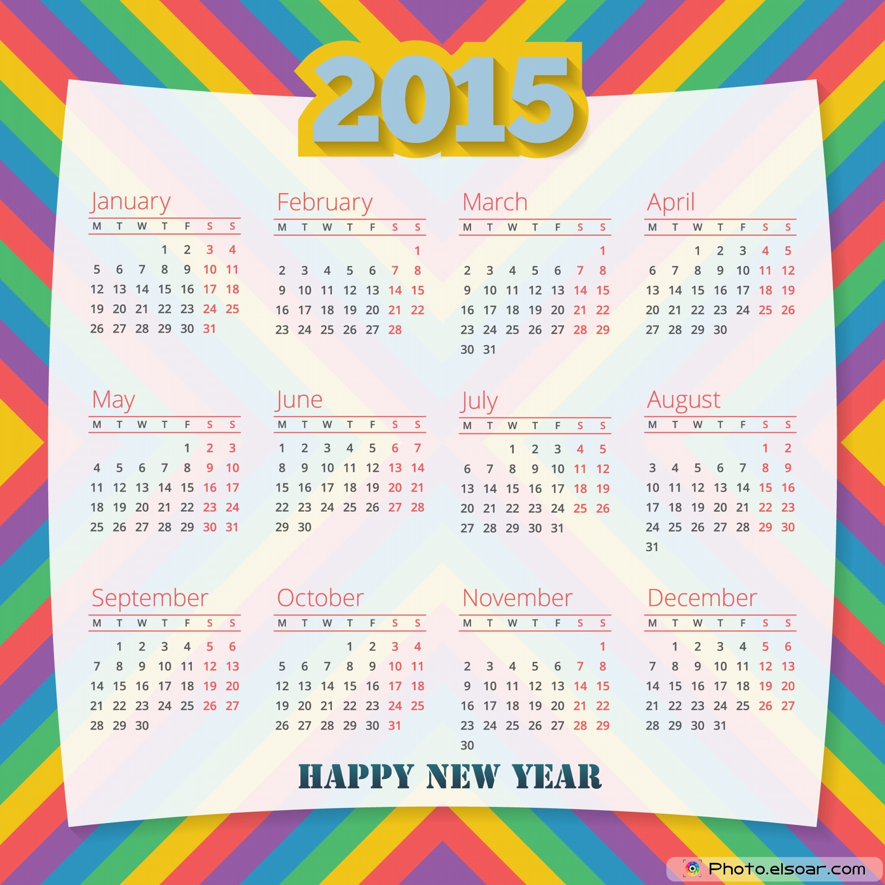 Chinese Calendar 2015