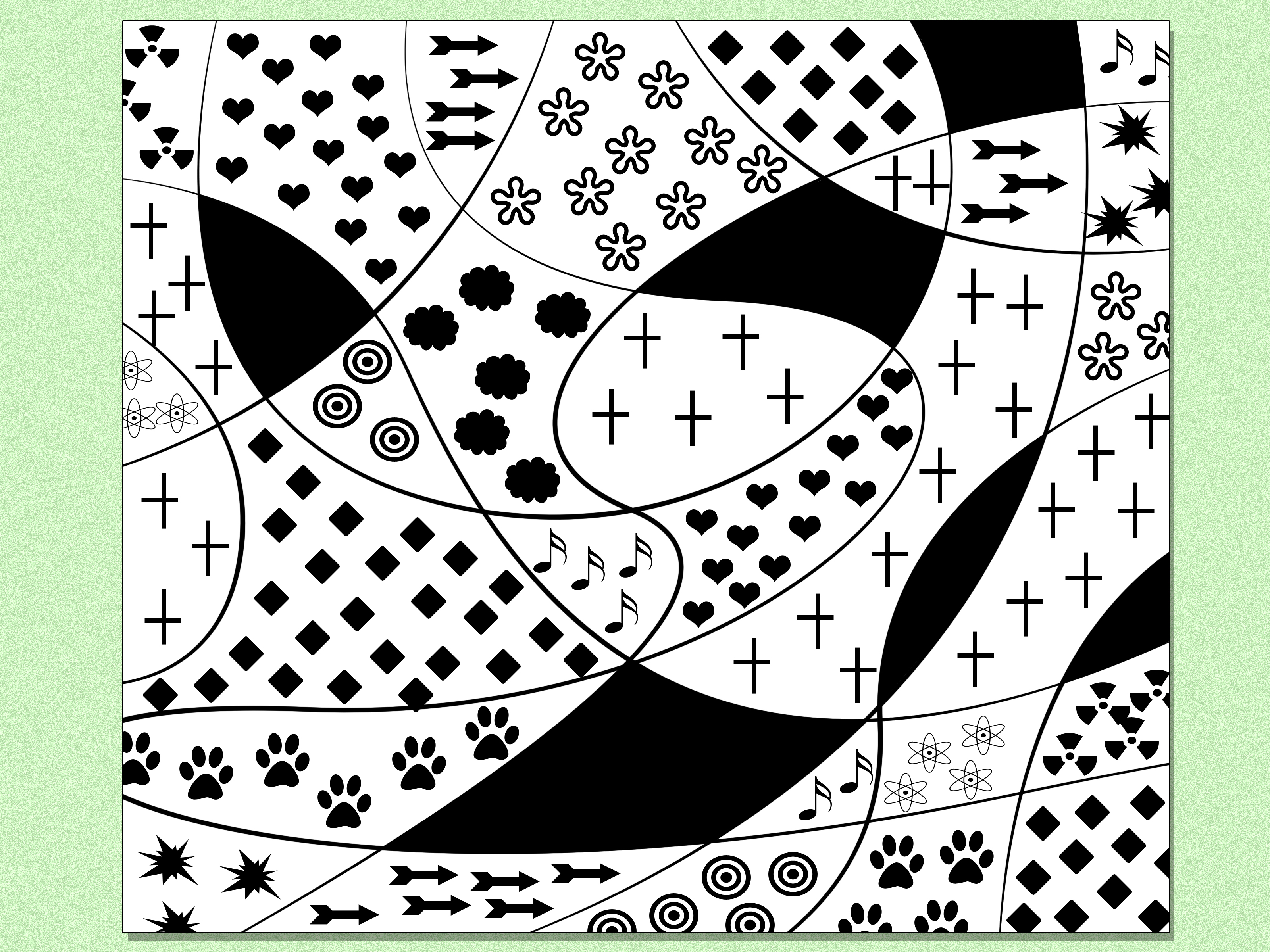 18 abstract designs to draw images cool easy abstract for Cool easy to draw patterns