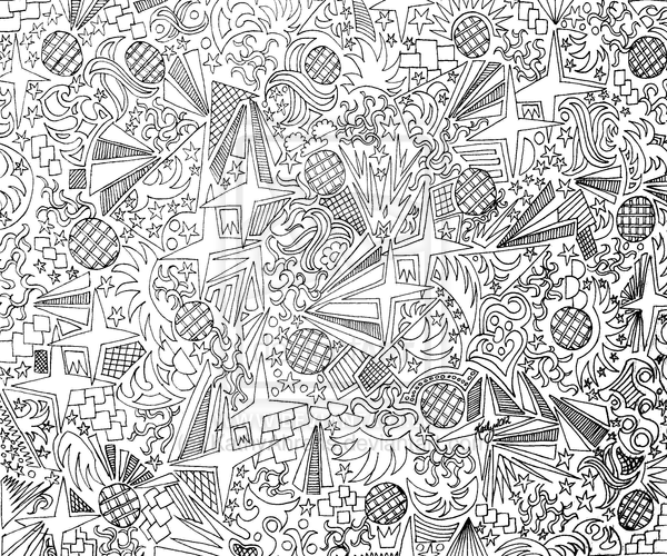 Cool Line Art Designs : Abstract designs to draw images cool easy