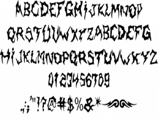 14 Cool Font Designs Images