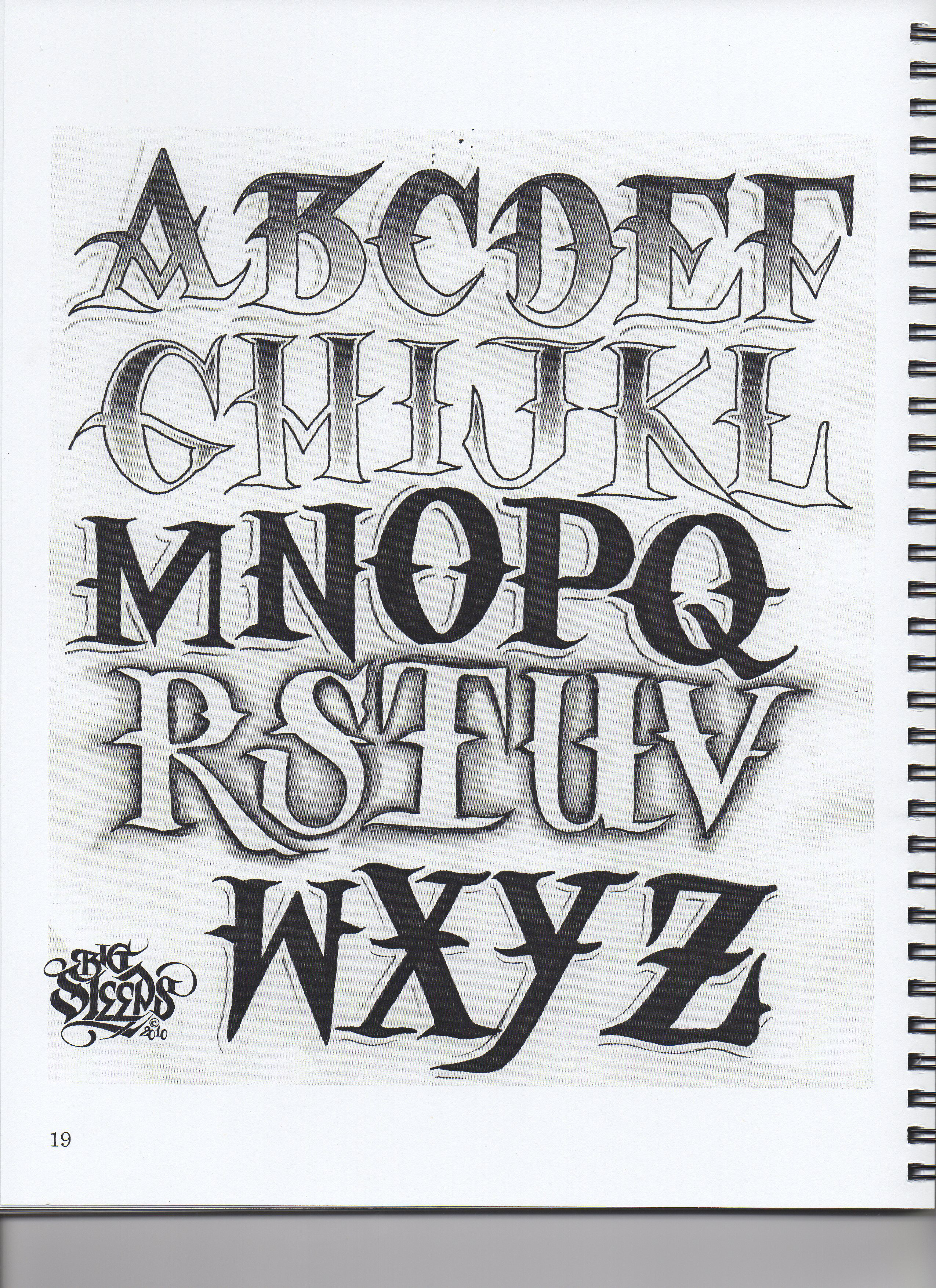 14 Cool Font Designs Images - Cool Tattoo Letter Fonts ...