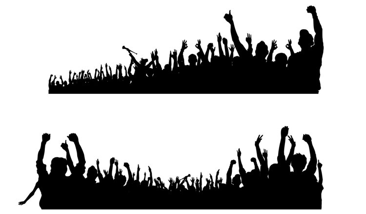 10 Crowd Of People Psd Images Crowd Silhouette Silhouette Crowd People And Group Of People Walking Psd Newdesignfile Com Download this cheering crowd silhouette vector material, vector material, vector, design png clipart image with transparent background or psd file for free. newdesignfile com