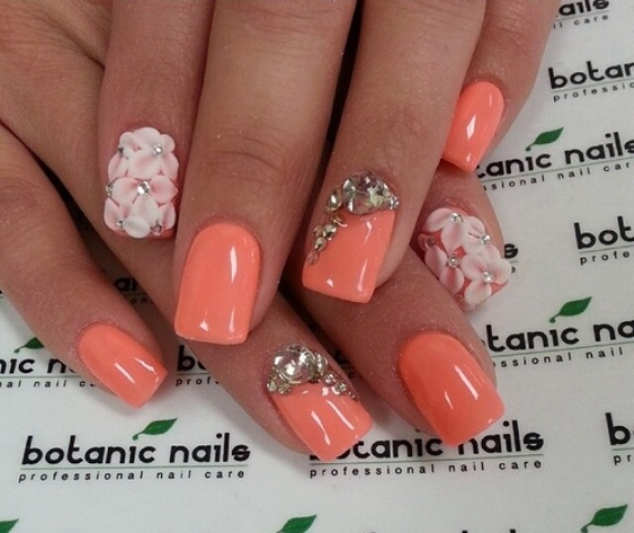 16 Cute Acrylic Nail Designs 2014 Images