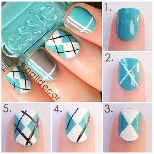 Cute Easy Nail Art Step by Step