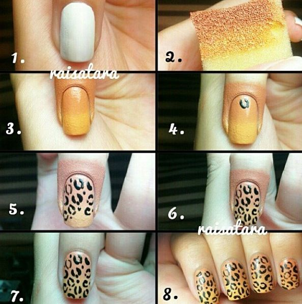 Cute Nail Designs Step by Step