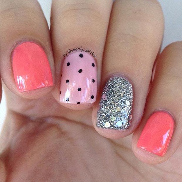 Cute Short Summer Nail Designs 2015