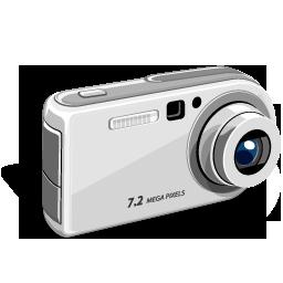 Digital Camera Flat Icon