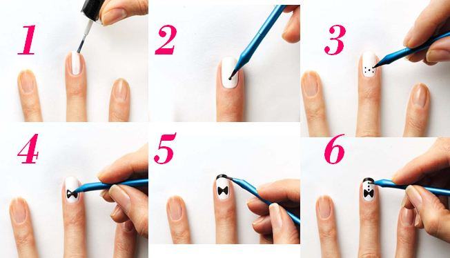 15 Cool Easy Nail Designs Step By Step Images