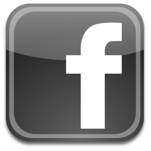 12 Facebook Icon Gray Images