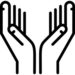 Facebook Icon Praying Hands