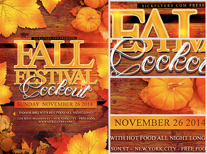Fall Festival Flyer Template