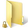 Folder Lock Icon On Windows