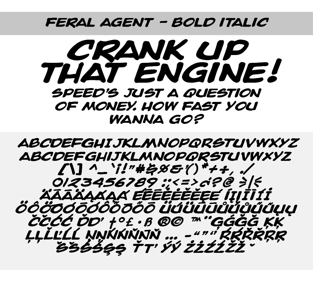 Font Used in Comic Books