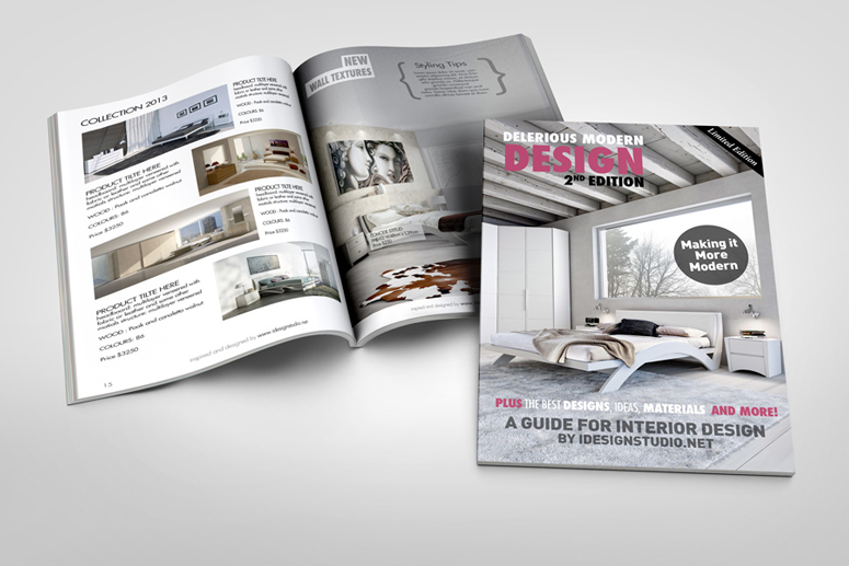 Free Magazine Mock UPS PSD