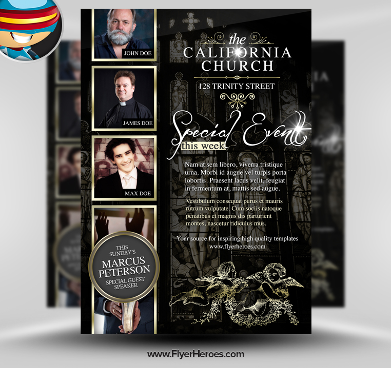 Free Psd Church Flyer Templates