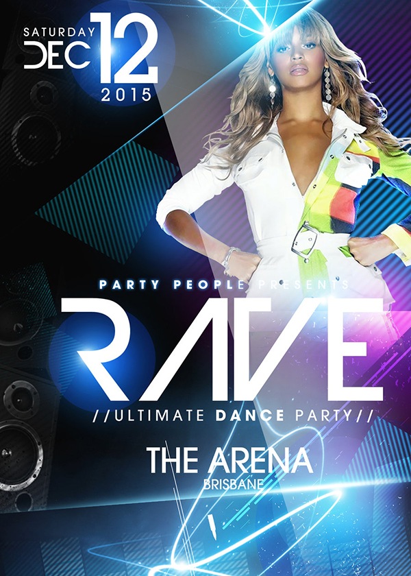 Free Psd Party Flyer Template Download
