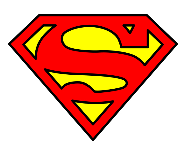 12 Superman Logo Vector Images