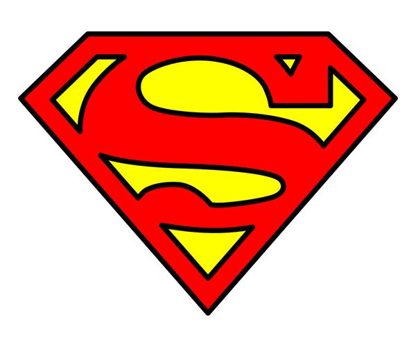 12 Superman Logo Vector Images