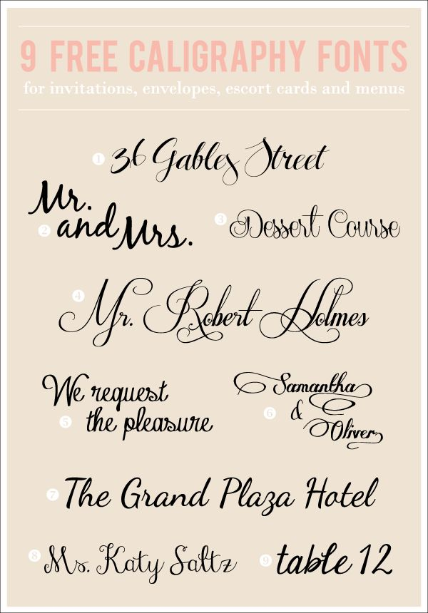 free wedding fonts to download