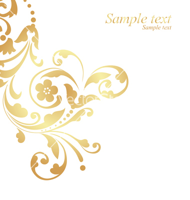 16 Gold Vector Art Designs Images