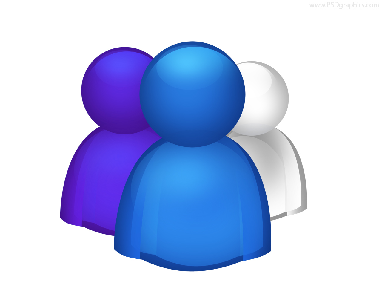 Group of People Icon PNG File