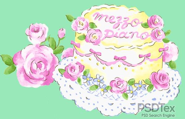Happy Birthday Cake Template