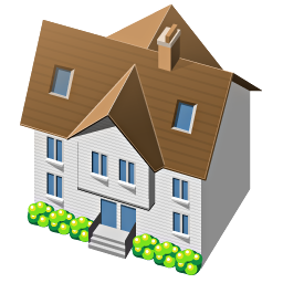 11 3d House Icon Images House Icon Vector Free 3d Home Icon And Home House Icons Free Newdesignfile Com