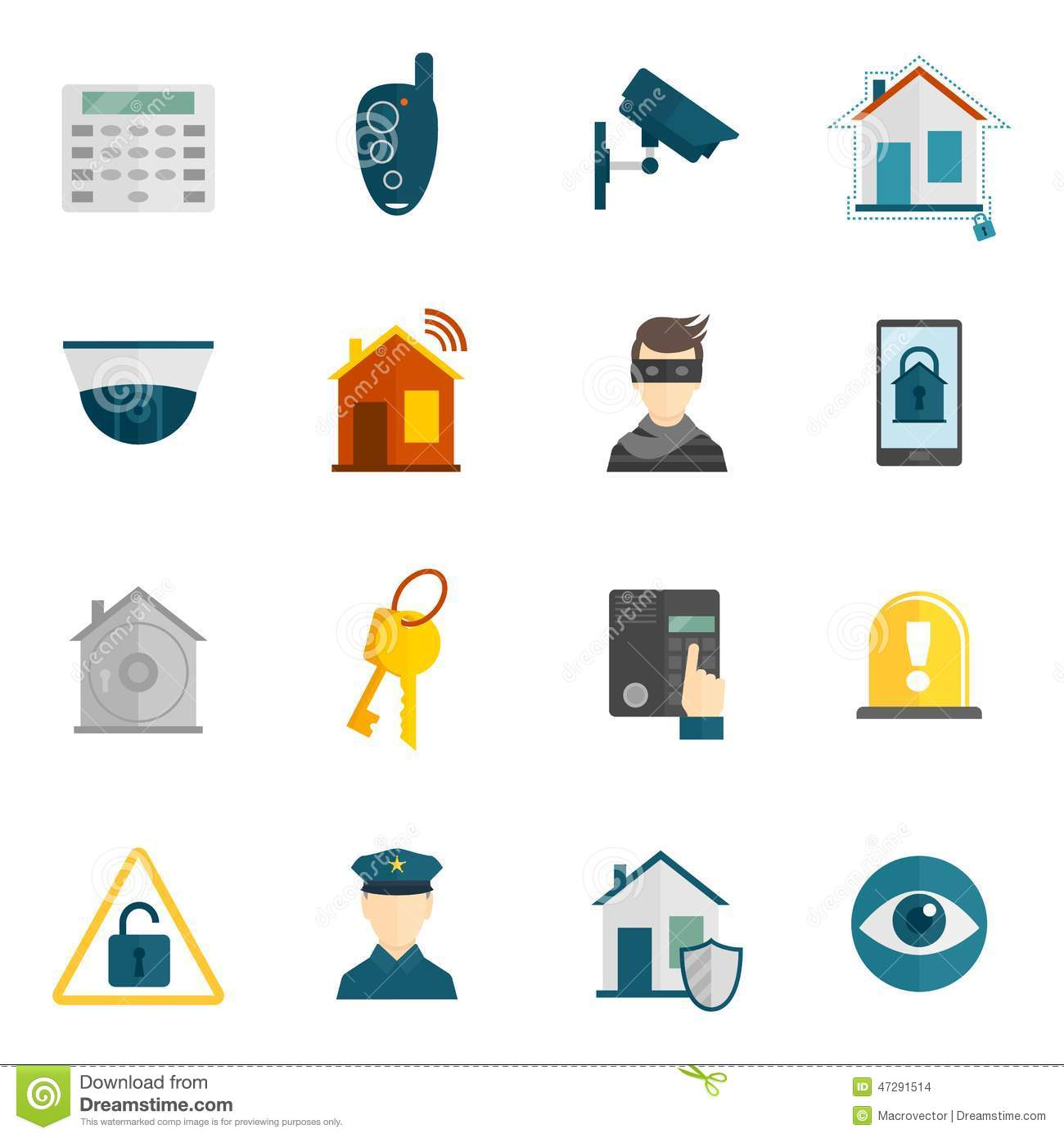Home Safety Security Icon