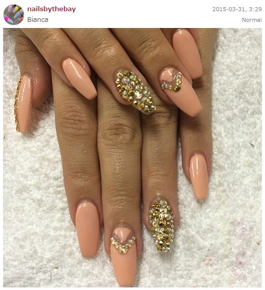 11 Acrylic Nail Designs Instagram Images - Instagram ...