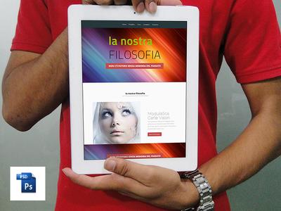 iPad Mock Up Psd