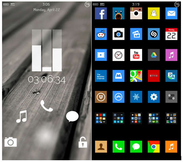 iPhone Jailbreak Themes