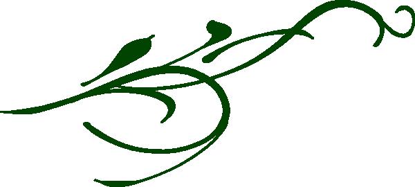 Leaf Swirl Clip Art