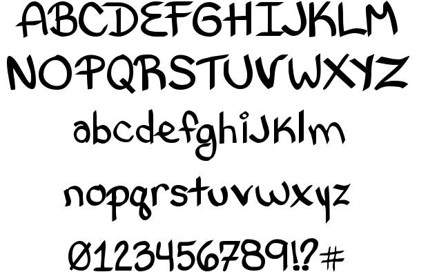 Letter Styles Fonts