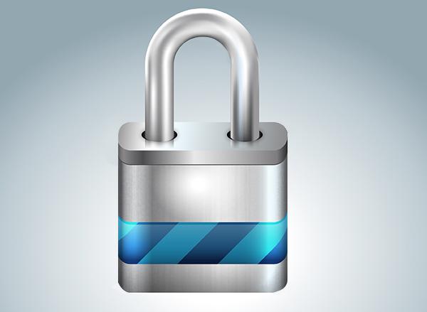 Lock for Windows 7 Padlock Icon