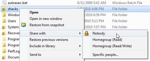 Lock Icons On Desktop Windows 7