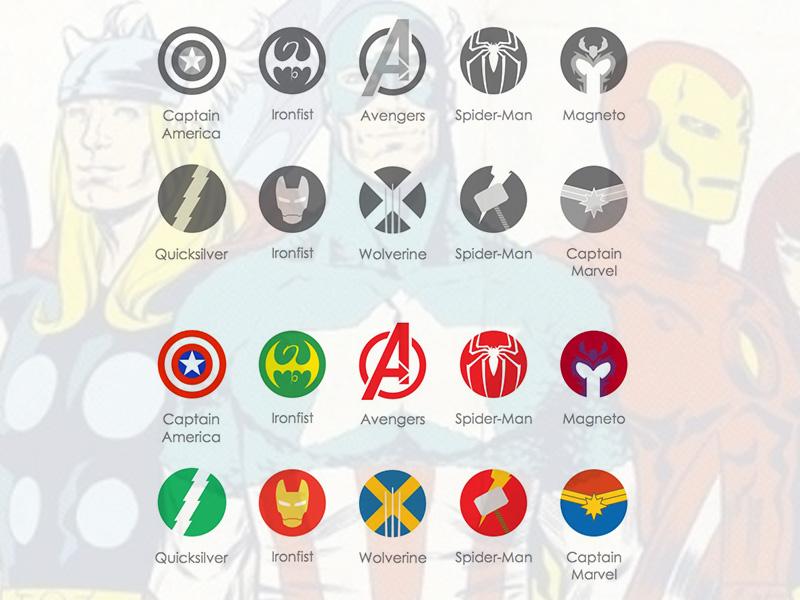 Marvel Avengers Icons