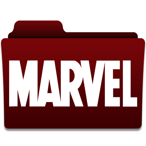 17 Marvel Folder Icons Images