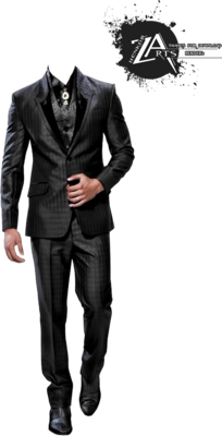 Men Suit PSD
