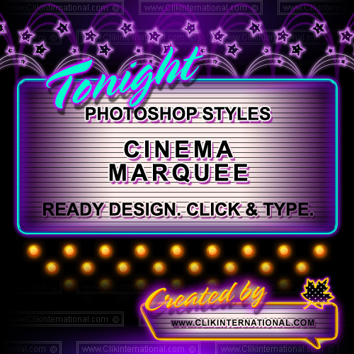 14 Theater Marquee PSD Images
