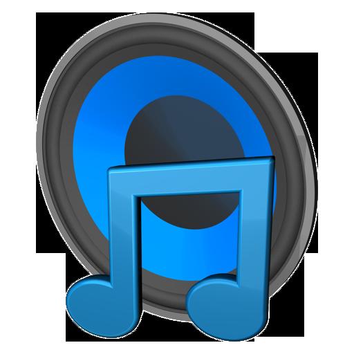 Music Icon Transparent Grey