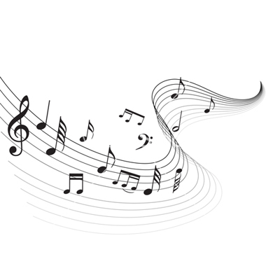 13 Free Vector Music Notes Images
