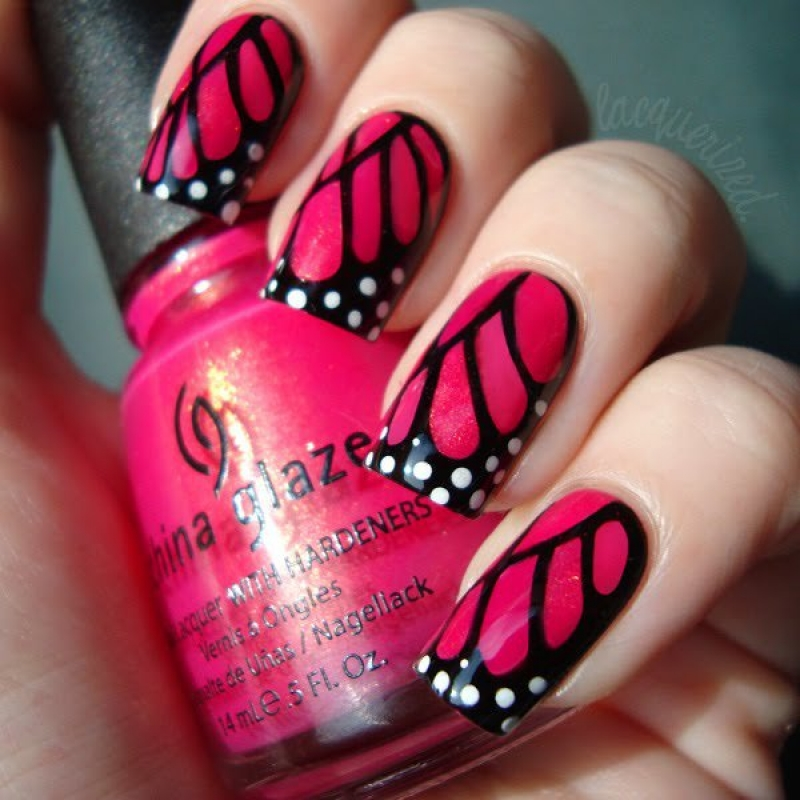 Nail Art Design Steps