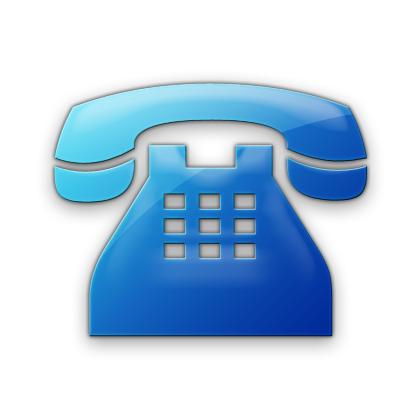 16 Blue Contact Icon Images