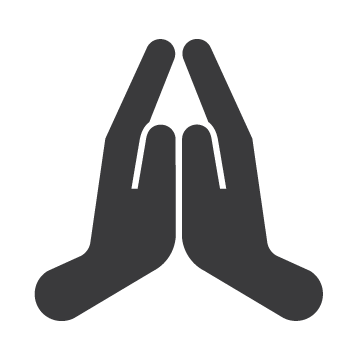 Prayer Hands Icon