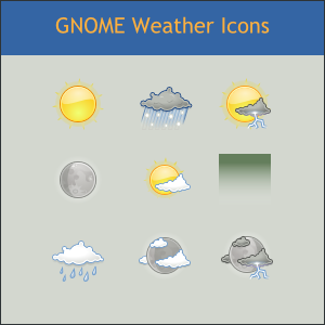 Realistic Weather Icons Free