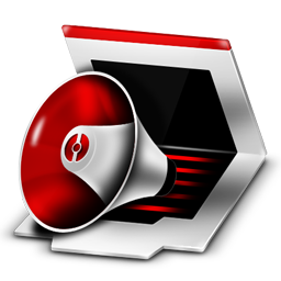 Red and Black Desktop Icons