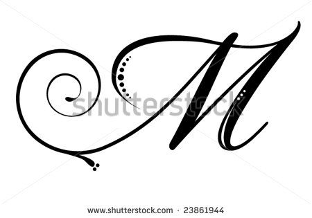 Letter m designs butik work tattoos monogram wall home decor 13 m font images fonts 10 free fonts altavistaventures Gallery